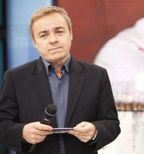 Gugu Liberato (Foto: Edu Moraes / TV Record)