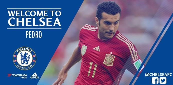 d861463334 Oficial  Barça acerta venda de Pedro para o Chelsea por R  118 milhões