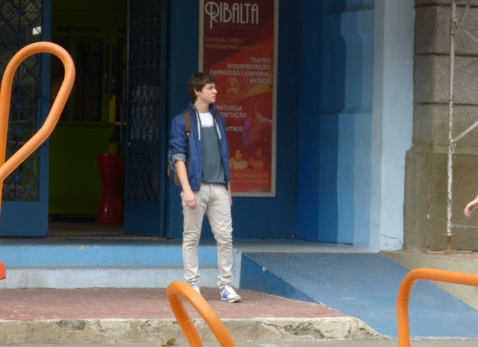 Henrique se despede da Ribalta (Foto: Paula Santos / Gshow)