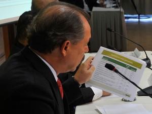 O ministro da educação Aloizio Mercadante apresentou os números finais do Sisu (Foto: Valter Campanato/Agência Brasil)