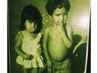 Luciano se emociona ao ver foto de infância pela 1ª vez: 'Agora tenho rosto'