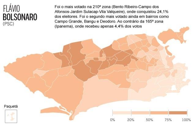 Votação Flavio Bolsonaro