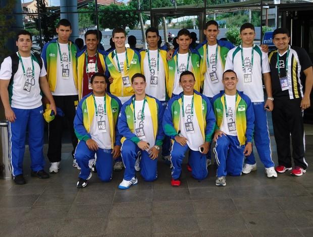 Equipe do colégio O Mestre conquistou a medalha de ouro de forma invicta (Foto: Divulgação)