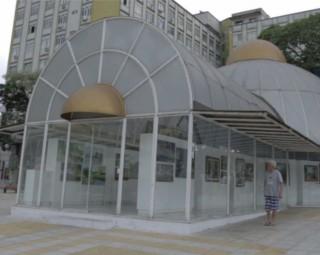 Espaço Zélia Arbex recebe o 8º Festival de Artes Plásticas de Volta Redonda (Foto: Reprodução/ TV Rio Sul)