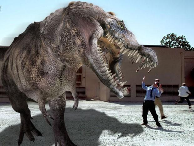 Cena de 'Dinocroc vs supergator' (Foto: Divulgação)