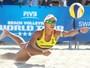 Duda joga o Open pela 1ª vez em casa ao lado da medalhista olímpica Ágatha