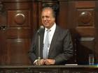 Governador do RJ reage bem à primeira sessão de quimioterapia