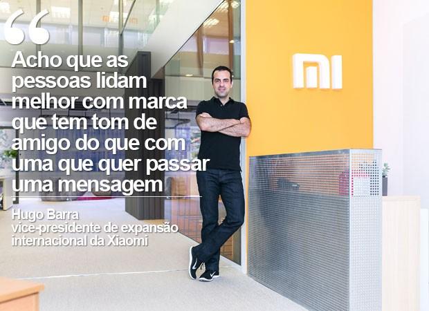 CARTELA 2 HUGO BARRA (Foto: Divulgação/Xiaomi)