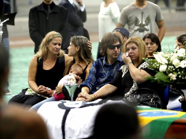 velório Chorão (Foto: ERNESTO RODRIGUES/ESTADÃO CONTEÚDO)