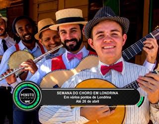 Minuto Cultural Londrina (Foto:  Reprodução/RPC)