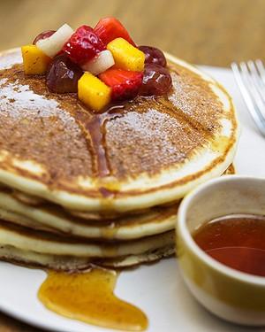Pancakes de banana (Foto: Keiny Andrade/Editora Globo)