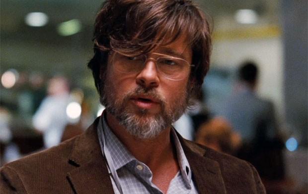 Brad Pitt está no elenco de 'A grande aposta' (Foto: Reprodução/Trailer)