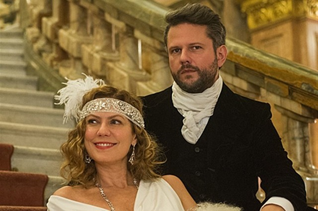 Patricia Pillar e Selton Mello em 'Ligações perigosas' (Foto: Caiuá Franco/TV Globo))