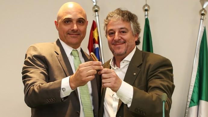Maurício Galiotte sucederá Paulo Nobre no comando do Palmeiras pelos próximos dois anos (Foto: Divulgação)