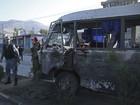 Atentado talibã mata soldados afegãos em Cabul