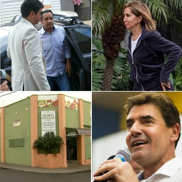 Arte retrospectiva política Ribeirão Preto (Foto: Arte/G1)