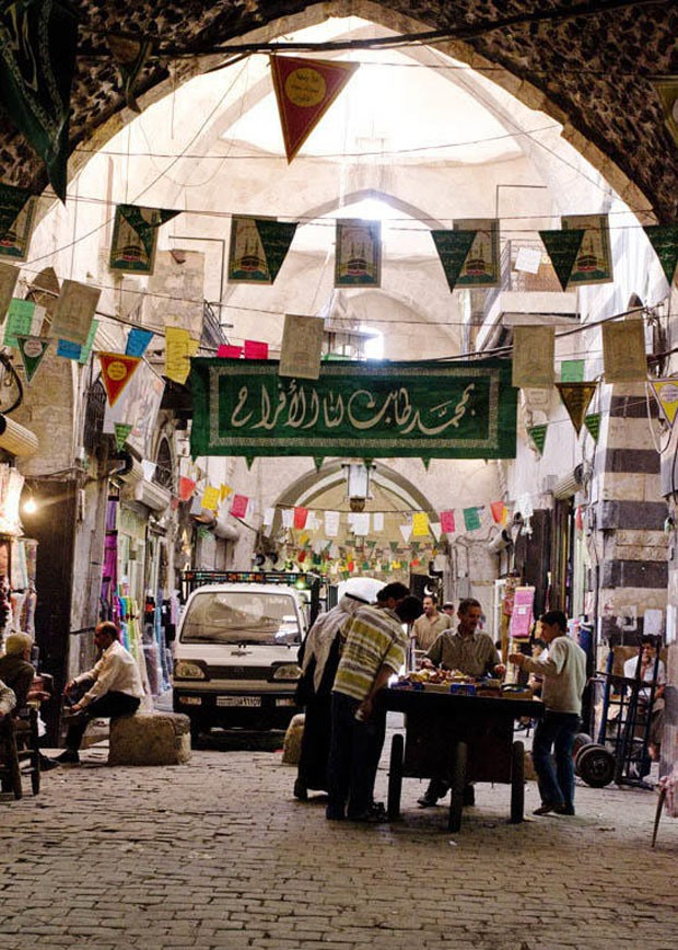 Site: Aleppo SoukCountry: SyriaPhotographer: Adli QudsiDate: 05/2008Caption: view of souk (Foto: Divulgação)