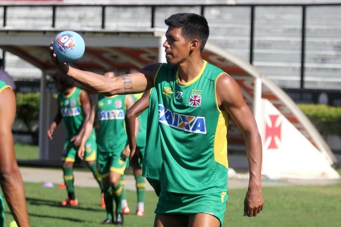 Julio dos Santos treino Vasco São Januário (Foto: Paulo Fernandes/Vasco.com.br)
