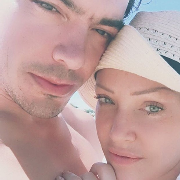 Deborah Blando e o namorado, Juliano Prudentte (Foto: Reprodução/Instagram)