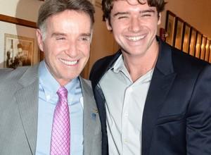 Eike Batista e seu filho Thor (Foto: Fabio Cordeiro/Editora Globo)