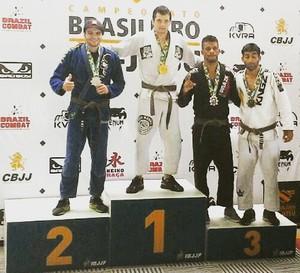 romario jiu-jitsu (Foto: Romário Gomes / Arquivo Pessoal)