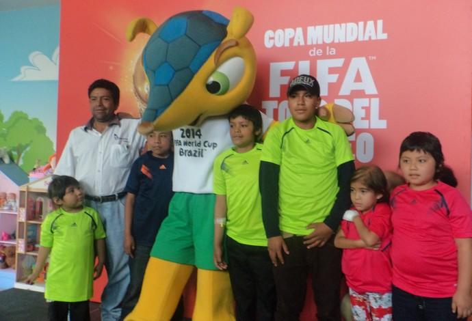 Fuleco Tour da Taça Guatemala (Foto: Cassius Leitão)