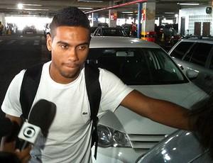 denilson, atacante do audax (Foto: Raphael Carneiro/Globoesporte.com)