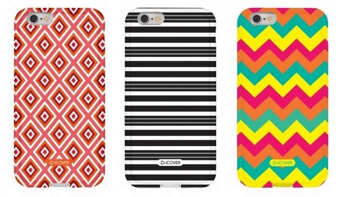 Capas para iPhone 6 da linha MyCover Cores e Formas (Foto: Divulgação/iCover)