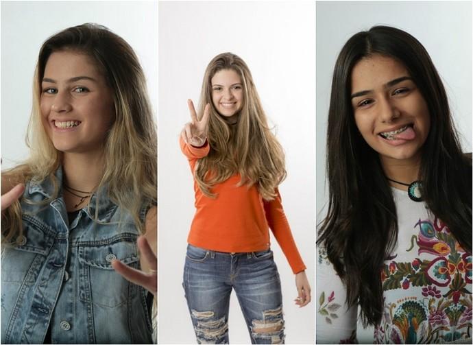 Denise, Gabi Borges e Juliana Gorito pretendem formar uma girlband (Foto: Divulgação/Gshow)