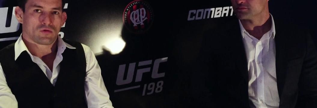 Demian Maia e Maurício Shogun falam sobre a ansiedade pelo UFC 198