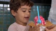 A melhor sobremesa do verão: sorvete!