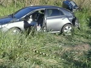 PM morre em assalto na ViaLagos (Foto: Rildo Herreira/Inter TV)