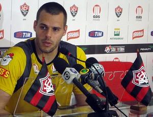 deola, goleiro do vitoria (Foto: Raphael Carneiro/Globoesporte.com)