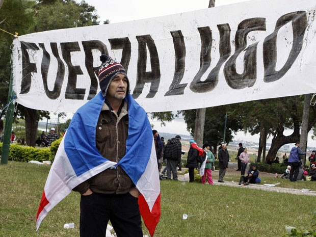lugo paraguai (Foto: Jorge Adorno/Reuters)