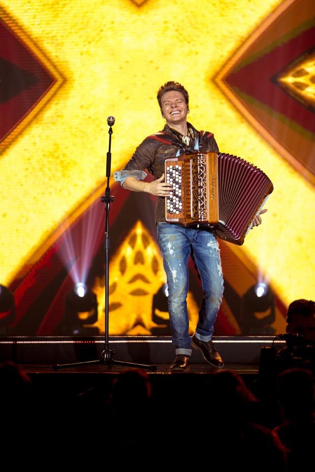 Michel Teló no show Bem Sertanejo (Foto: Divulgação)