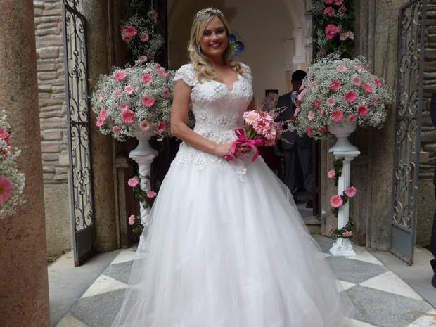 Ludmila vai brilhar em casório bafônico (Foto: Viviane Figueiredo/Gshow)