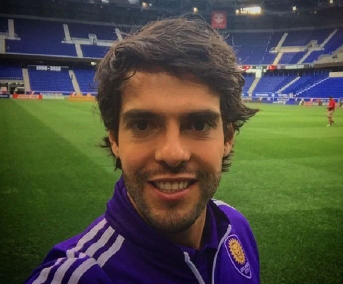 Kaká está desde o começo do ano no Orlando City (Foto: Arquivo Pessoal)