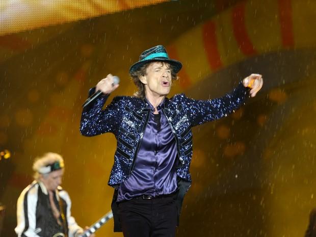 Mick Jagger e Rolling Stones no show em Porto Alegre Foto Agncia RBS