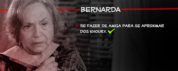 Bernarda (Foto: Amor à Vida/TV Globo)