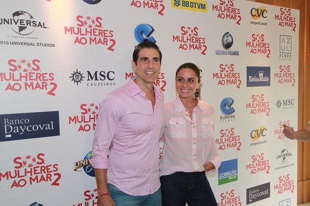 Giovanna Antonelli e Reynaldo Gianecchini (Foto: Rodrigo Zerneri / Azzi Agency )