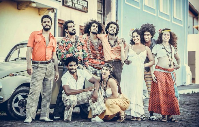 Pedro Pondé gravou cenas com núcleo tropicalista para 'Velho Chico' (Foto: Divulgação/Luciano Oliveira)