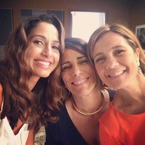 Camila Pitanga, Glória Pires e Adriana Esteves (Foto: Reprodução/Instagram)