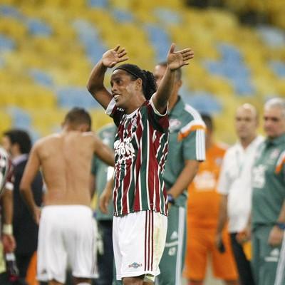 Ronaldinho Gaúcho Fluminense x Grêmio Maracanã (Foto: Marcelo de Jesus)