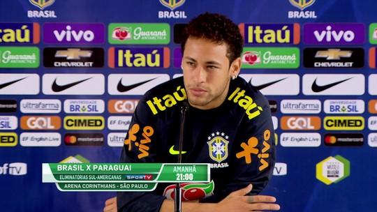 """Neymar volta a ser capitão e se diz mais maduro na Seleção: """"Melhor em tudo"""""""