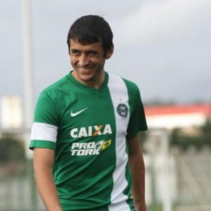 robinho coritiba treino (Foto: Divulgação/site oficial do Coritiba Foot Ball Club)