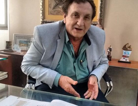 Prefeito de Parnaíba, no Piauí, o ex-senador Mão Santa (Foto: Divulgação)