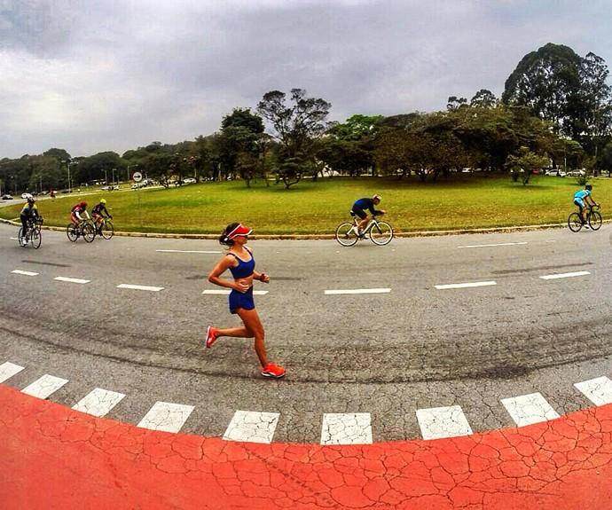 Alessandra triatlo euatleta (Foto: Arquivo Pessoal)