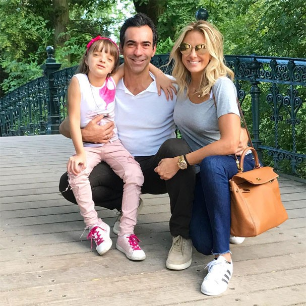 César Tralli, Rafaella e Ticiane Pinheiro (Foto: Reprodução/Instagram)