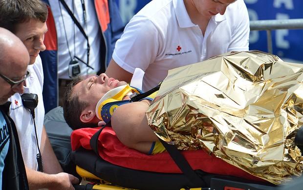 Carlos Chinin, Atletismo (Foto: Agência AP)