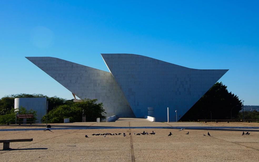 Panteão da Liberdade e Democracia, em Brasília (Foto: Marcelo Brandt/G1)